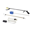 "Rehabilitation: Fabrication Enterprises - FabLife™ Hip Kit: 32"" Reacher, Contoured Sponge, Formed Sock Aid, 24"" Dressing Stick"