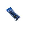 Fabrication Enterprises - Elastic Shoe Laces, 2 Pair, Black