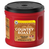 Country Roast Coffee, Country Roast, 25.1 oz Canister, 6/Carton