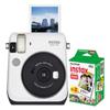 Fuji Fujifilm Instax Mini 70 White Camera Bundle FUJ 600016064