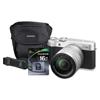Fuji X-A10 Compact Interchangeable Lens Camera Bundle, 16 MP, Black FUJ 600018290
