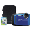 Fuji FinePix XP120 Weatherproof Digital Camera, 16.4MP, Blue FUJ 600018382