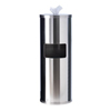 GoodEarth Stainless-Steel Floor Stand Wipe Dispenser with Built-in Trash Receptacle GDE19220