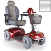 Golden Avenger Heavy-Duty Bariatric 4-Wheel Mobility Scooter GDX GA541D-SILVER