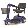Golden Companion Full-Size 3-Wheel Luxury Mobility Scooter GDX GC340-BLUE