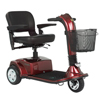 Golden Companion Full-Size 3-Wheel Luxury Mobility Scooter GDX GC340-RED