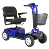 Golden Companion Full-Size 4-Wheel Luxury Mobility Scooter with White Glove Delivery GDX GC440-BLUE-WHITEGLOVE