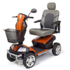 Golden Patriot Heavy-Duty Bariatric 4-Wheel Mobility Scooter GDX GR575DPATRIOT-ORANGE