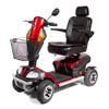 Golden Patriot Heavy-Duty Bariatric 4-Wheel Mobility Scooter GDX GR575PATRIOT-RED