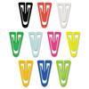 Clips Clamps Rings Paper Clips: Advantus® Plastic Paper Clips