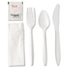 cutlery and servingware: Wrapped Cutlery Kit