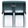bathroom tissue, bathroom tissue dispensers: Compact® Quad™ Vertical 4 Roll Coreless Tissue Dispenser