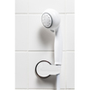 GF Health Universal Handheld Shower Head Holder, White GHI 12040-HLDR-1