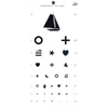 GF Health Kindergarten Hanging Eye Chart GHI 1243
