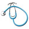 GF Health Single Head Stethoscope, Light Blue GHI300DLX-LB