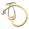 GF Health Single Head Stethoscope, Yellow GHI 300DLX-Y