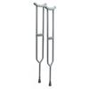 GF Health Bariatric: Imperial Steel Crutches GHI3614A
