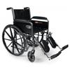 "Rehabilitation: GF Health - Traveler® SE Wheelchair, 18"" x 16"" with Fixed Full Arm, Swingaway Footrest"