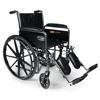 GF Health Traveler® SE Wheelchair, 18 x 16 with Fixed Full Arm, Elevating Legrest GHI 3E010110