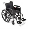 GF Health Traveler® L3 Wheelchair, 20 x 16 Detachable Desk Arm, Swingaway Footrest GHI 3F010320