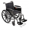 GF Health Traveler® L3 Wheelchair, 20 x 16 Detachable Desk Arm, Elevating Legrest GHI 3F010330