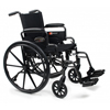 GF Health Traveler® L4 Wheelchair, 20 x 16 Adjustable Height Desk Arm, Swingaway Footrest, Quick Release Wheels GHI 3F020360