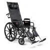 "Rehabilitation: GF Health - Advantage 18"" x 17"" Recliner Wheelchair, Desk Arm, Elevating Legrest"