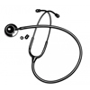 GF Health Panascope Deluxe Dual Head Stethoscope- Midnight Black GHI500BK