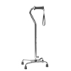 GF Health Silver Collection Low Profile Quad Canes - Ortho-Ease® Grip GHI 6121A-1