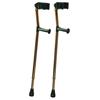 GF Health Deluxe Ortho Forearm Crutches GHI 6345
