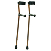 GF Health Deluxe Ortho Forearm Crutches GHI 6347