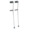 GF Health Aluminum Forearm Crutch, Tall, Gray, 33 - 42 GHI 6350T