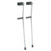 """rehabilitation devices: GF Health - Aluminum Forearm Crutch, Tall, Gray, 33"""" - 42"""""""