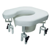 GF Health Multi-position Open Padded Raised Toilet GHI 6497A