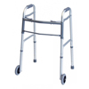 GF Health Everyday Dual Release Walkers with Wheels GHI 716270A-1