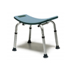 bathroom aids: GF Health - Lumex® Platinum Collection Bath Seat without Backrest, Retail Packaging, Steel Blue