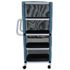 GF Health PVC Linen Cart With Cover GHI8524