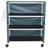 GF Health PVC Linen Cart With Cover GHI8526