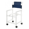 GF Health PVC Shower Commode Chair GHI 89180