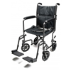 GF Health Lightweight Aluminum Transport Chair, 17