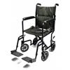 GF Health Lightweight Aluminum Transport Chair, 17, Black GHI EJ785-1