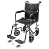 GF Health Lightweight Aluminum Transport Chair, 19