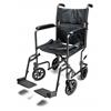 GF Health Steel Transport Chair, 17 Silver Vein GHI EJ795-1