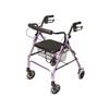 GF Health Lumex® Walkabout Lite Four-Wheel Rollator, Lavender GHI RJ4300L