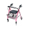 rollers & rollators: GF Health - Lumex® Walkabout Lite Four-Wheel Rollator, Pink
