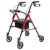 "rollers & rollators: GF Health - Set n"" Go Height Adjustable Rollator"