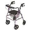 GF Health Walkabout Four-Wheel Contour Deluxe Rollator GHI RJ4805L