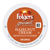 kcups: Folgers Gourmet Selections Hazelnut Cream Coffee K-Cups