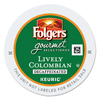 Folgers Folgers Gourmet Selections Lively Colombian Coffee K-Cups GMT 0570