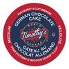 kcups: Timothy's World Coffee German Chocolate Cake Coffee K-Cups
